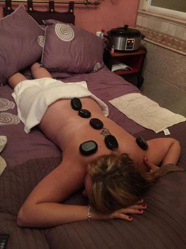 massage pierre chaudes, séjour bien être chateau thierry