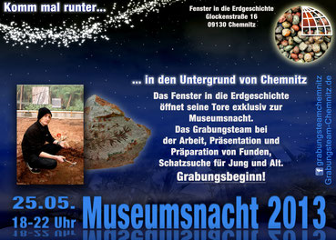 Grabung Chemnitz Museumsnacht