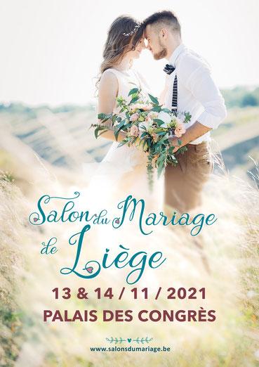 Salon du Mariage de Liège 13 et 14 Novembre 2021