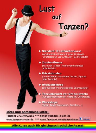 Lust auf Tanzen? Flexible Tanzkurse in Ulm und Umgebung!