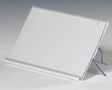 Preisschildhalter mit Glashalter und Scannerleiste 9903012, FMU GmbH, Snackzubehör