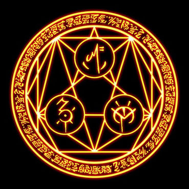 Sello nombres de poder, para la nigromancia, brujería y hechicería.