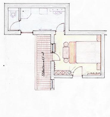 Elferspitz - Doppelzimmer ca 24m²