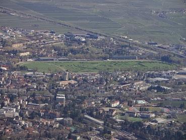 Pferderennplatz von Meran