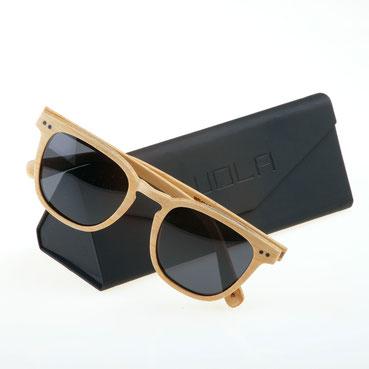 Holz Sonnenbrille Helio Ebenholz