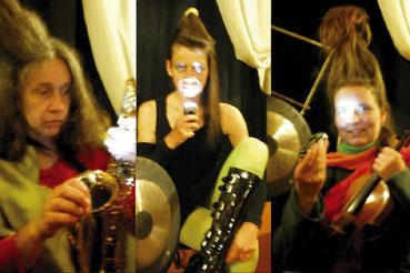 Halloween-Konzert: Ute Reisner, Karin Huttary, Hanna Jüngling