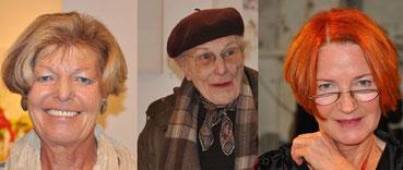 Brigitte Eberhard, Zeitzeugin Christiane Voigt, Hedi Schulitz