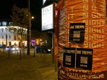 Die Treppe in Berlin: QR-Code Kampagne