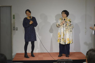 招待作品の澤口明宏監督作「私、糖尿病ですって!」のゲストは池田香織さん、中村靖子さんのお二人。