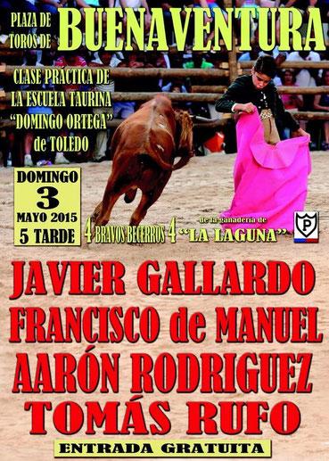 Cartel Buenaventura 3 de mayo 2015