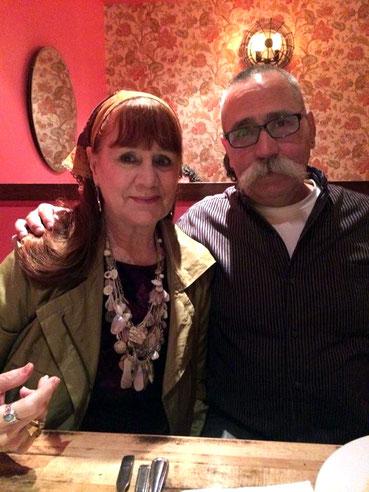 2014 : Raine with her husband Bill Gannett
