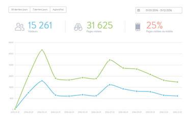 Statistiques année 2016 montbenoit.fr