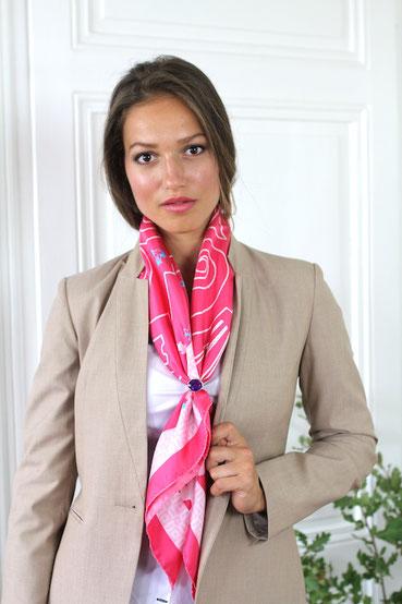 foulard-fanfaron-madeinfrance-versailles-roi-soleil