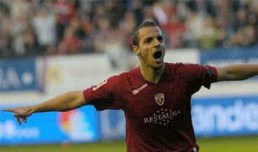 En la temporada 2006/07 Soldado fue cedido al C. AT. Osasuna, equipo de la Primera División. Se convirtió, en esa temporada, en el máximo goleador.