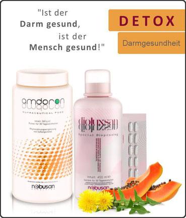 DETOX Darmgesundheit - Ist der Darm gesund, ist der Mensch gesund!