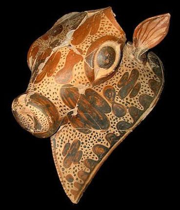 Un rhyton découvert dans le palais (Greek Culture of Ministry)