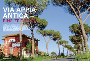 Via Appia – das war die wichtigste der berühmten Kolonialstraßen, die zu Zeiten des römischen Imperiums den italienischen Stiefel überzogen. Ein TF-Team verfolgte das antike Pflaster von Rom bis nach Brindisi.