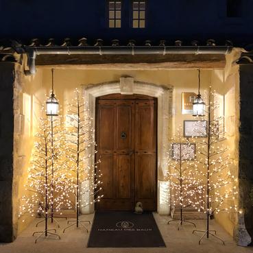 La magie de Noël au Hameau des Baux