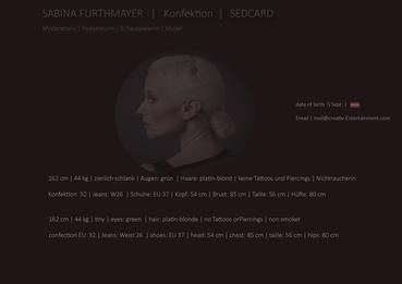 SABINA FURTHMAYER | SEDCARD