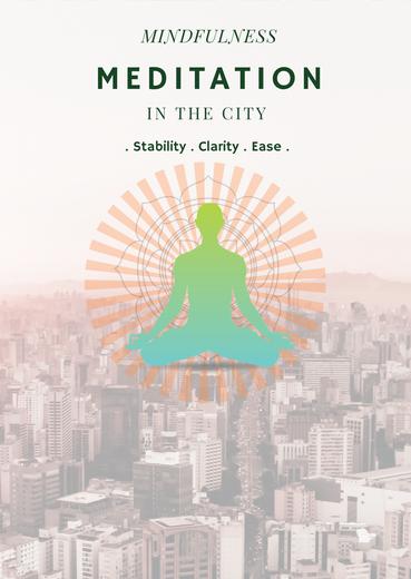Mindfulness Meditation London, Angel, Clerkenwell, Islington
