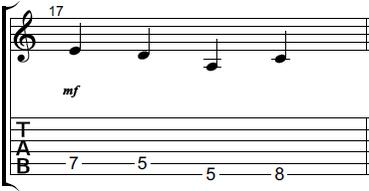 【初心者】ギターアドリブ講座 音型トレーニング 音型4-1