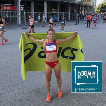 Julia Mayer Frauenlauf 3. Platz AK 9. Platz Österreichischer Frauenlauf