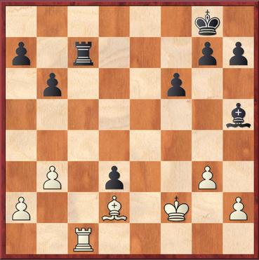 Hier verpasste Schwarz das bessere 29. ... Tc2! zu spielen (anstatt von Txc1). Die Verbesserung besteht darin, dass nach Tausch auf c2 zum einen der weiße Bauern ein Feld weiter vorn steht und Weiß weniger Raum zum manövrieren zur Verfügung steht.