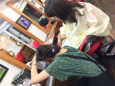 横浜の無責任美容師☆奥条勇紀☆さやちゃんの仕事術