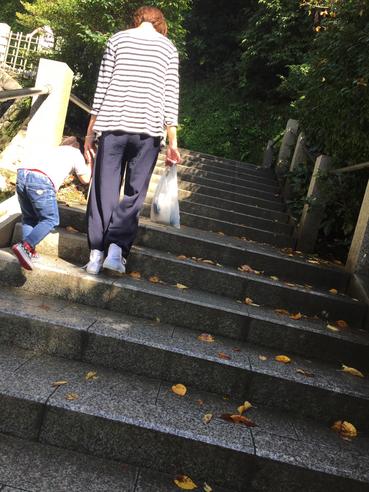ママとなっちゃん(娘)に導かれるように鎌倉へ!!横浜・美容室 休日は