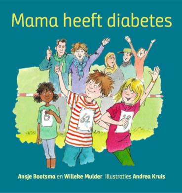 Kinderboek voor kinderen met een ouder met diabetes (suikerziekte)