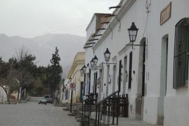 les rues tranquilles de Cachi