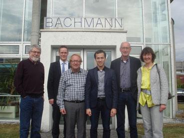 Horst Geller, Thorsten Baumgart, Heinz-Peter und Pascal Bachmann, Hermann Ludewig, Ulla Lehmann