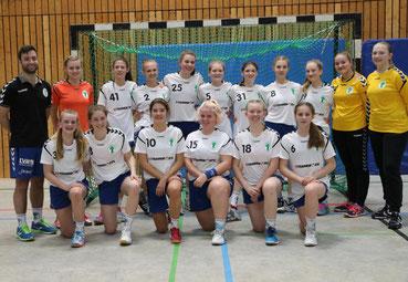 Strahlende B-Mädchen qualifizieren sich direkt für die Oberliga