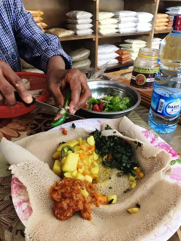 Eten bij de locals