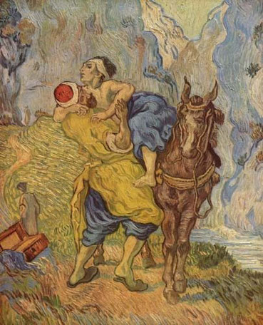 Le Bon Samaritain, Van Gogh, 1890, Rijksmuseum Kröller-Müller, Otterlo