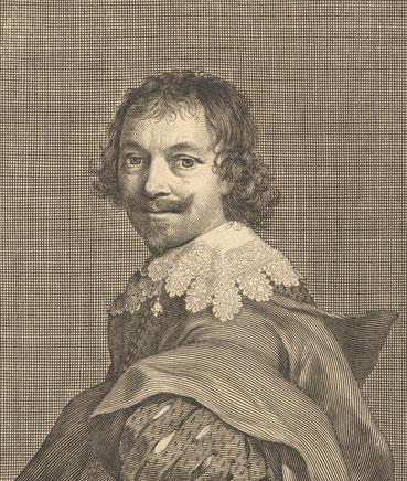Claude Mellan, Autoportrait, Cliché B. Tillier-Bouche