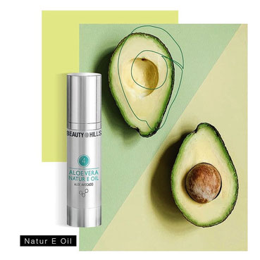 Beauty Hills, Kosmetik, Vitamine, Vitamin E, Tocopherol, Antioxidant, Natural E Oil, Avocado