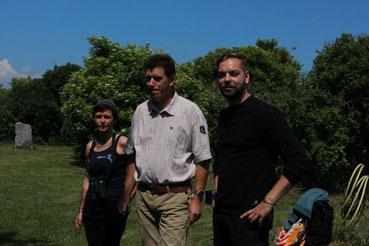 Stella Klasan und Ringo Behn teilen sich ab Juli die Leitung des Schutzgebietes Greifswalder Oie.