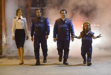 Enttäuschende Performance: Peter Dinklage als Lachnummer. [Quelle: Sony Pictures]
