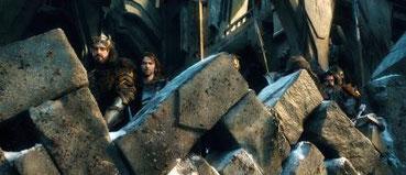 Eigentlich konzentriert sich der letzte Film auf die Entwicklung von Thorin Eichenschild. [Quelle: Warner]