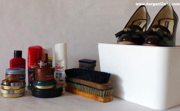 Organízate para tener los zapatos siempre limpios - www.AorganiZarte.com