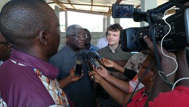 Biogasanlage in der Elfenbeinküste eingeweiht