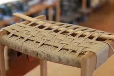 編み座スツール