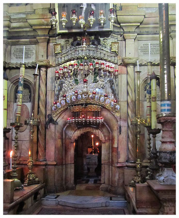 The Chapel of the Tomb of Jesus (Edicule)