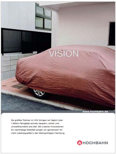 Imagewerbung für ÖPNV Unternehmen über Anzeigen