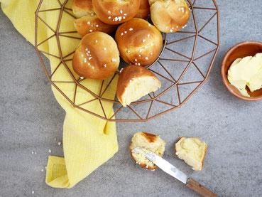 Breakfast Rolls - Briochebrötchen