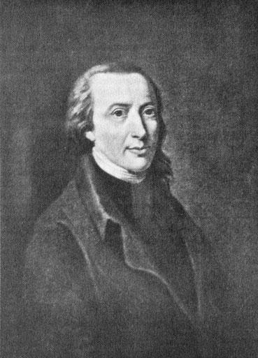 Zeichnung des Dichters Matthias Claudius