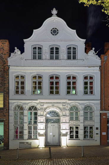 Das Buddenbrookhaus in Lübeck