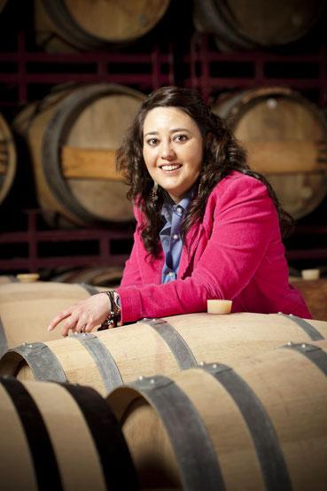 Ana Fernández Bengoa präsentiert am 20.09.2019 ihre Bodega und ihre Weine im Hotel Moosburger Hof bei unserem neunten gemeinsamen Weinevent.