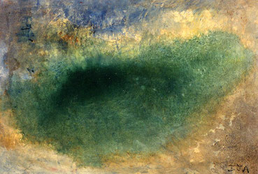 Serie Agua. Óleo sobre tela, 38 x 55 cm, 1992. Colección privada.
